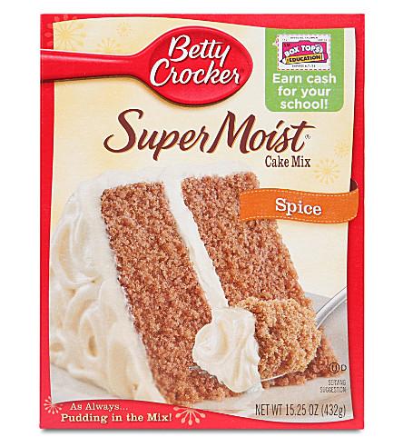 BETTY CROCKER SuperMoist Spice cake mix