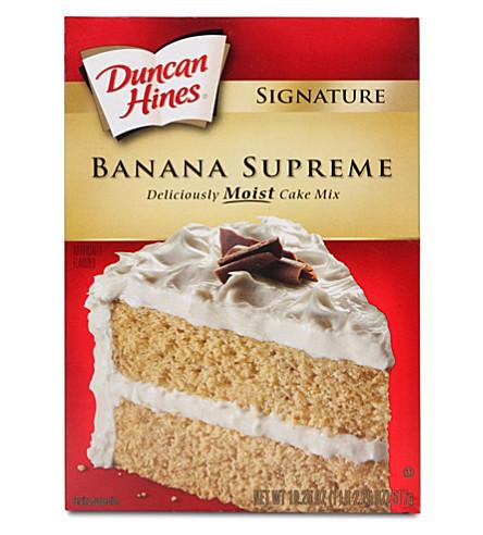 DUNCAN HINES Banana Supreme cake mix