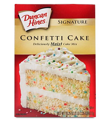 DUNCAN HINES Confetti cake mix