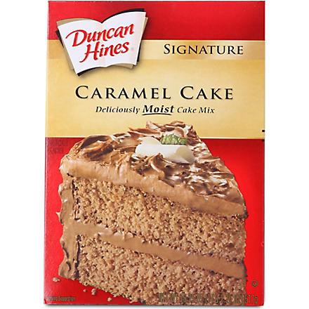 DUNCAN HINES Caramel cake mix 517g