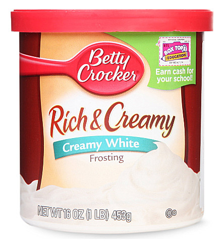 BETTY CROCKER Rich & Creamy White frosting