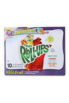 BETTY CROCKER Fruit roll-up snacks 141g