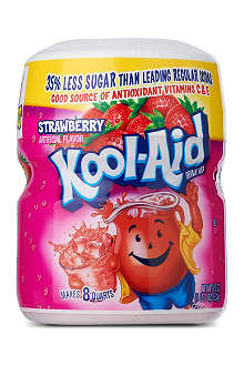 KOOL-AID Strawberry fruit drink mix 538g