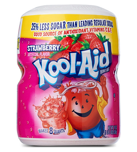 Strawberry fruit drink mix 538g