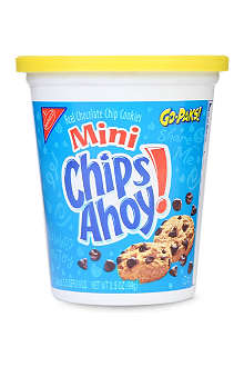 NABISCO Mini Chips Ahoy! Go-Pak tub