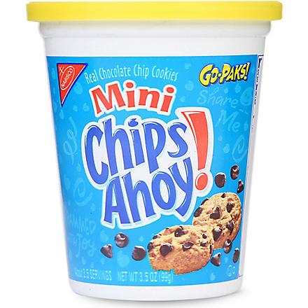 NABISCO Mini Chips Ahoy! Go-Pak tub