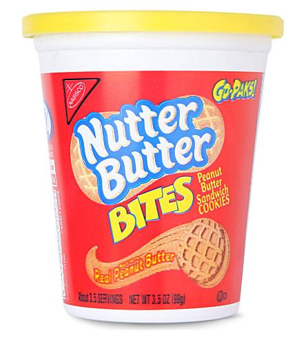 NABISCO Nutter Butter peanut butter sandwich biscuits 99g