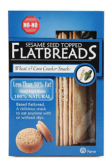 NO NO Sesame Salted topped flatbreads