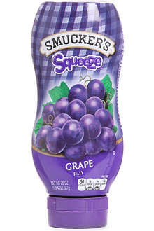 SMUCKER'S Grape jelly squeeze bottle 568g
