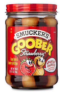 SMUCKERS Goober Strawberry peanut butter and jelly spread 510g