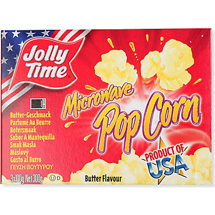 JOLLY TIME Microwave popcorn butter 300g
