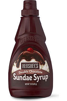 Double chocolate sundae syrup