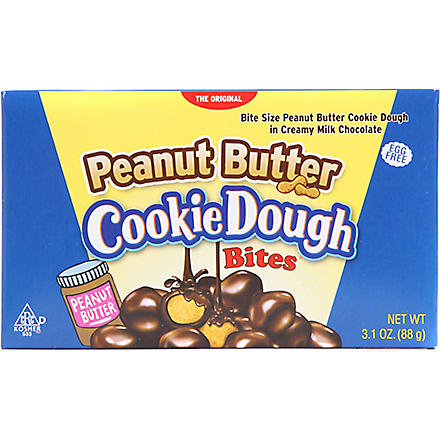 COOKIE DOUGH BITES Peanut Butter cookie dough bites 88g