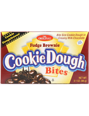 NONE Fudge Brownie cookie dough bites 88g