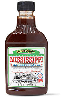 MISSISSIPPI BARBECUE SAUCE Sweet Apple barbecue sauce 440ml
