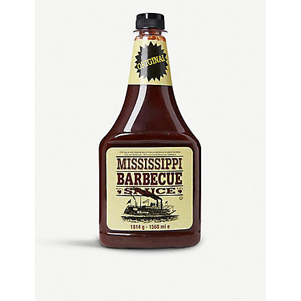 MISSISSIPPI BARBECUE SAUCE Original barbecue sauce 1560ml