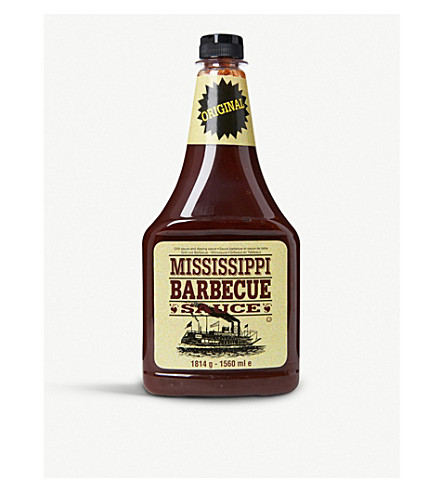 CONDIMENTS & PRESERVES Original barbecue sauce 1560ml