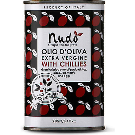 NUDO Olive oil with chillies 250ml