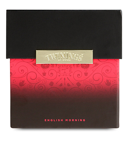 TWININGS Signature blends prestige english morning gift set 584g