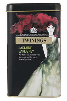 TWININGS Jasmine Earl Grey limited edition tea bags tin 40g