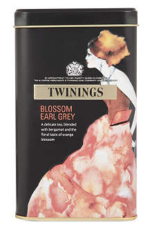 TWININGS Blossom Earl Grey limited edition tea bags tin 40g