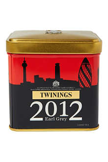 TWININGS London Skyline Earl Grey loose tea caddy 100g