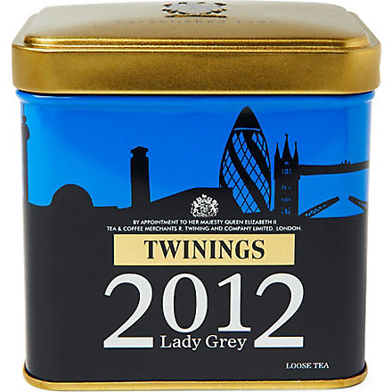 TWININGS London Skyline Lady Grey loose tea caddy 100g