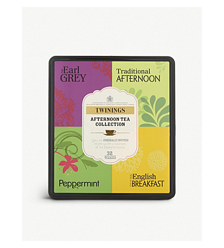 TWININGS Afternoon Tea collection 64g