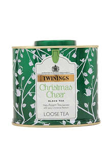 TWININGS Christmas Cheer black loose tea 100g