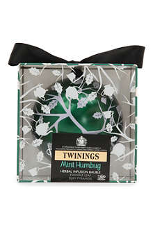 TWININGS Mint Humbug bauble tea bags