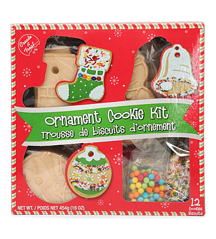 CREATE A TREAT Ornament cookie kit 360g