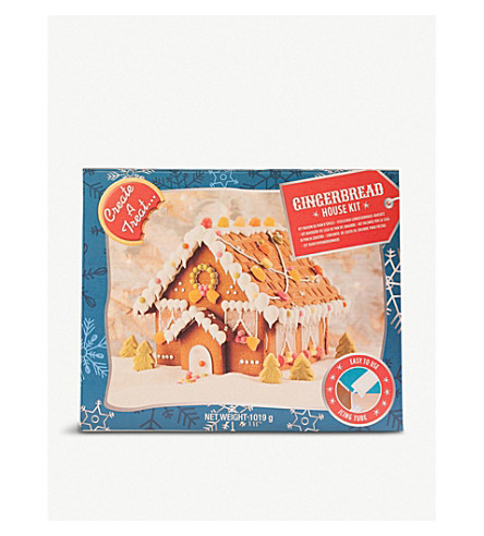 CREATE A TREAT Gingerbread Mini Village