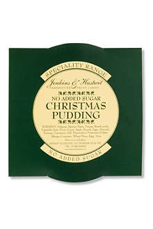 JENKINS & HUSTWIT No Added Sugar Christmas pudding 396g