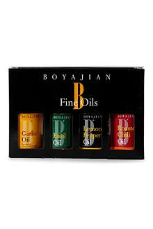 BOYAJIAN Four oil gift pack 4 x 30ml