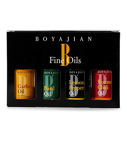OILS Four oil gift pack 4 x 30ml