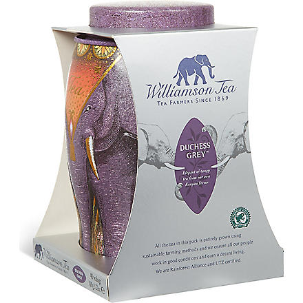 WILLIAMSON TEA Lilac Duchess Grey 40 teabags 100g