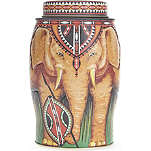 WILLIAMSON TEA High Grown Kenya elephant tea bag caddy 100g