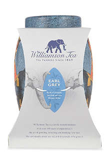 WILLIAMSON TEA Earl Grey elephant tea bag caddy 50g