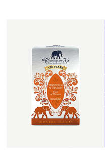 WILLIAMSON TEA Traditional afternoon tea bags 125g
