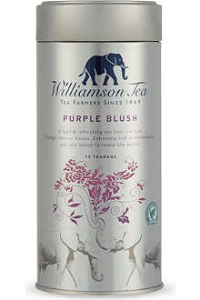 WILLIAMSON TEA Purple Blush tea bags