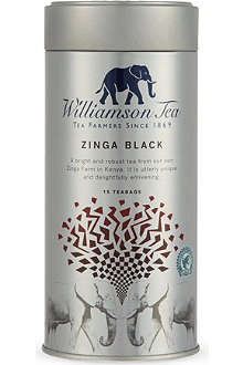 WILLIAMSON TEA Zinga Black tea bags