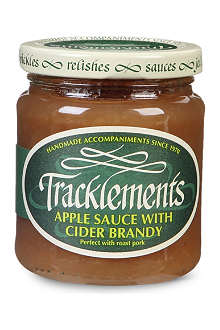 TRACKLEMENTS Apple sauce with cider brandy 210g