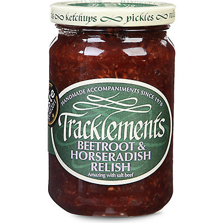 TRACKLEMENTS Beetroot & horseradish relish  300g