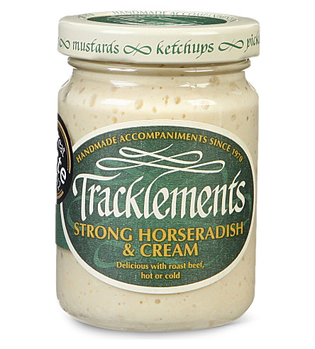 TRACKLEMENTS Strong Horseradish & Cream 145g