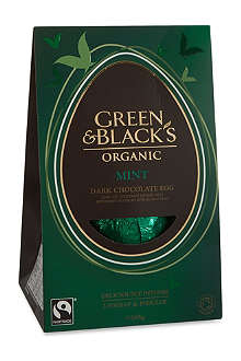 GREEN & BLACKS Mint dark chocolate egg 165g