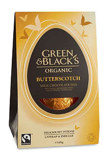 GREEN & BLACKS Butterscotch milk chocolate egg 165g