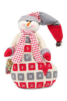 CHRISTMAS Felt snowman advent calendar