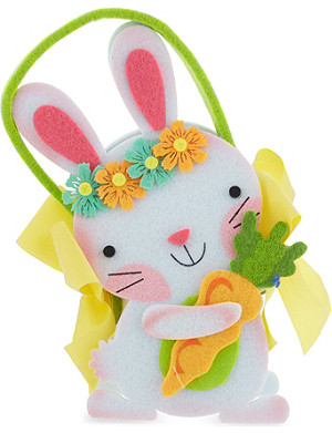 MOPEC Felt bunny with chocolate pralines 40g