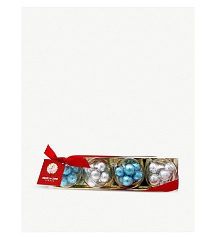 FARHI Milk chocolate praline Christmas baubles 200g