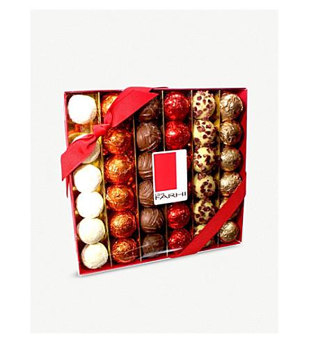 FARHI Chocolate and truffle selection 450g